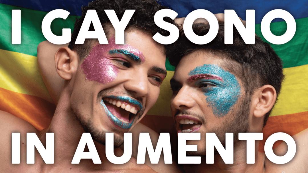 I gay sono in aumento