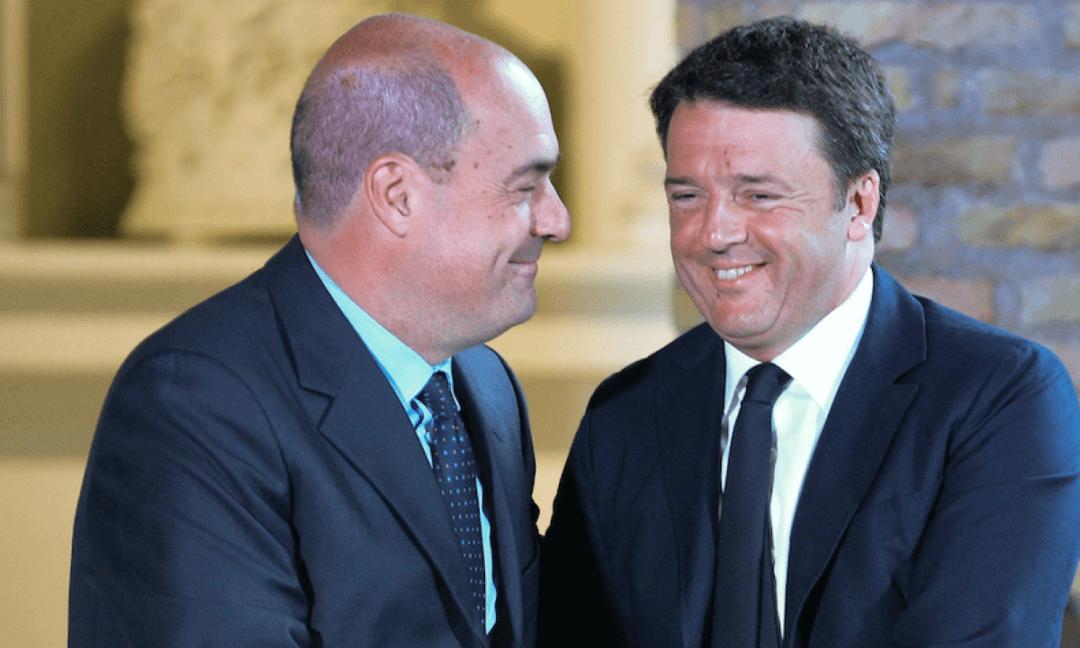 Renzi VS Zingaretti. Il duello